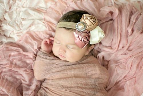 tiara diadema para beb vintage