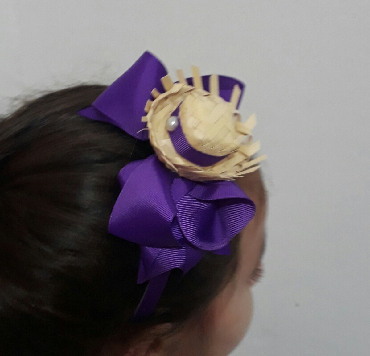 bc0eea31e9160 tiara festa junina mini chapeu caipira enfeite de cabelo. Carregando zoom.