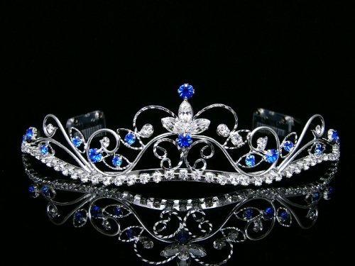 tiara nupcial de la corona de la boda del baile de fin de c