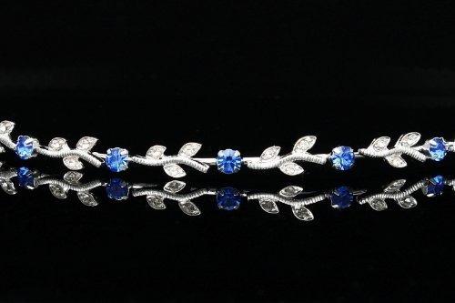 tiara nupcial de la venda de la boda de la dama de honor cr