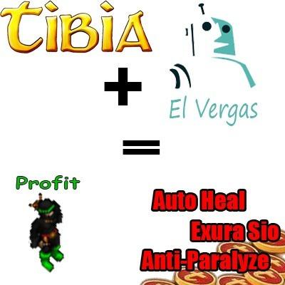 Tibia Healing Bot