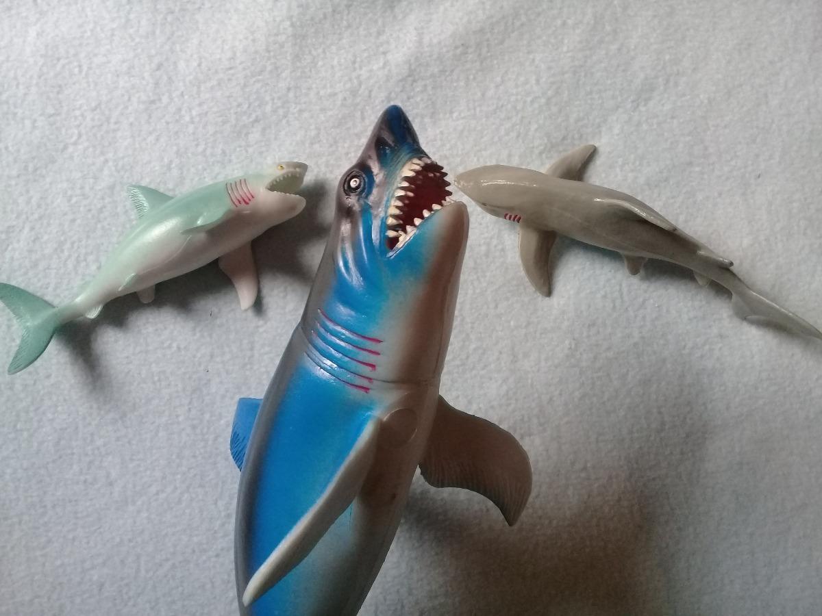 Goma Blanco Set Tiburon 15 Mar 33cm2 Cm Juguete shrdxBtQC