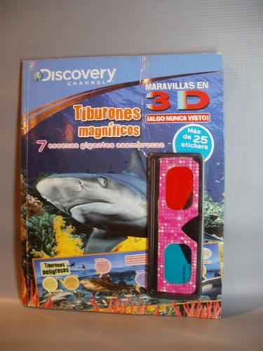 tiburones magnificos 3d discovery channel zona caballito