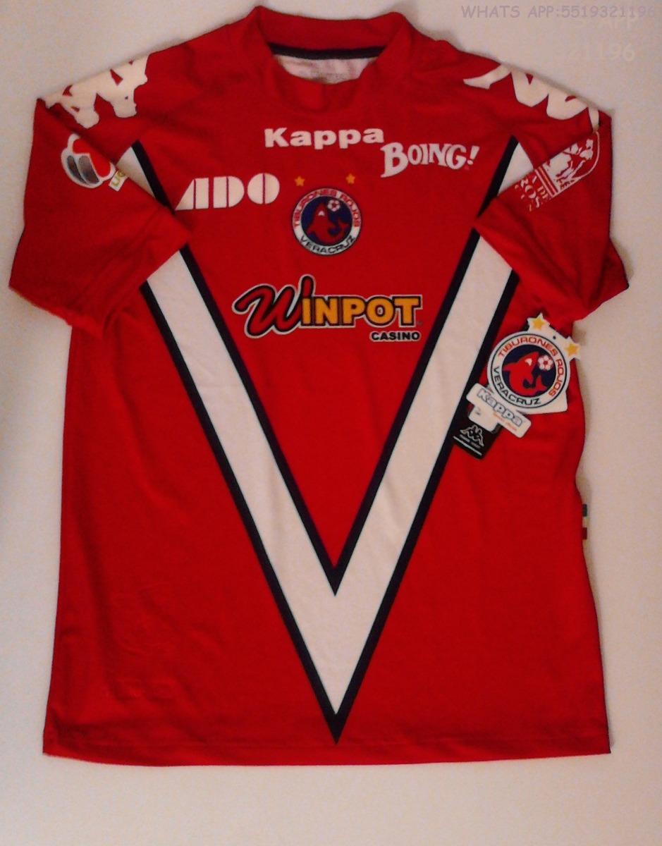 Tiburones Rojos Veracruz Kappa (nuevo 100% Original ) -   549.00 en ... 2c67cffc17a5f