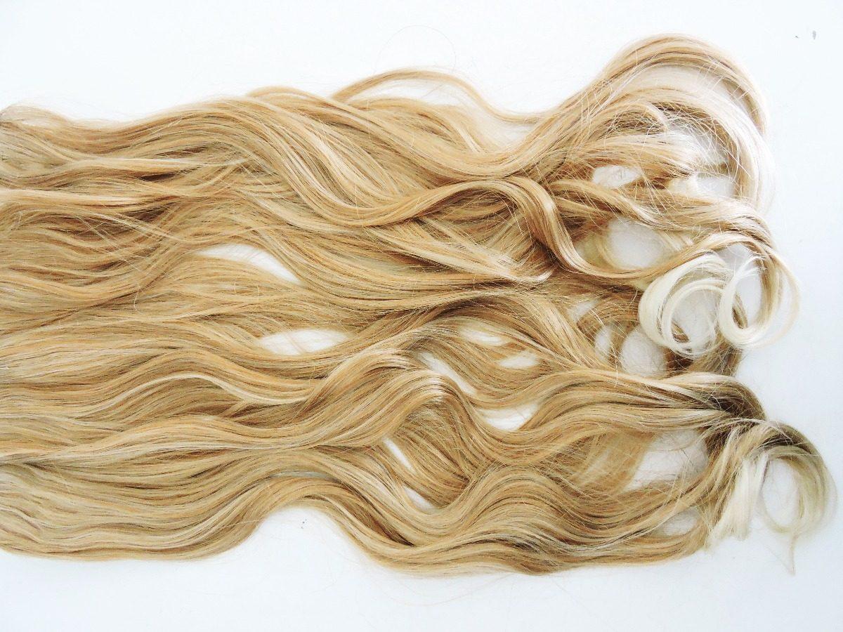 893cc8330 Carregando zoom... aplique cabelo mega tic tac fibra ondulado chapinha  babyliss