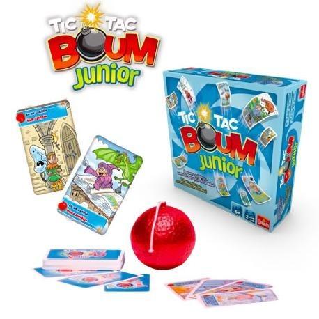 Tic Tac Boom Junior Juego Familiar Pensamiento Logico 710 00