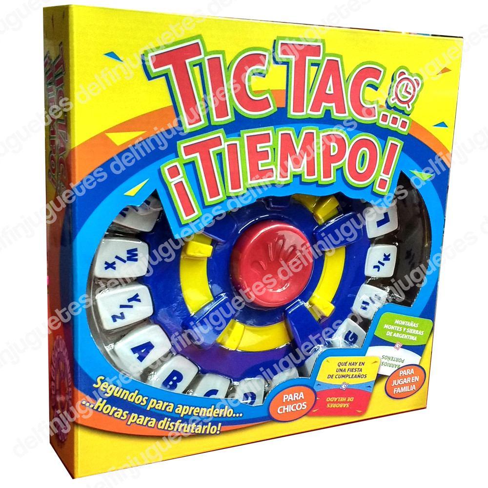 Tic Tac Tiempo Juego De Mesa De Memoria Tiempo Palabras Tv 999