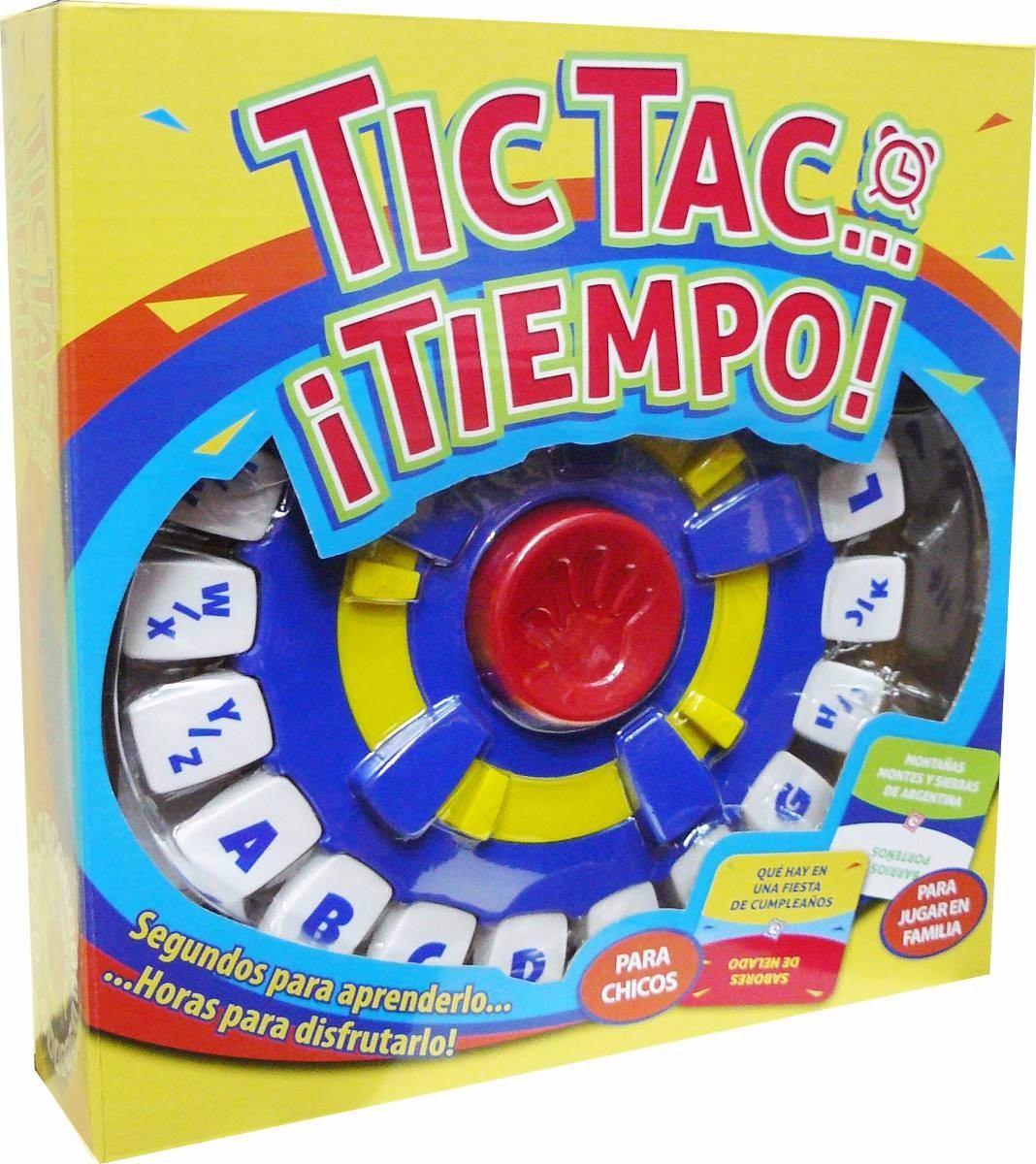 Tic Tac Tiempo Juego De Mesa Para Jugar En Familia 999 90 En