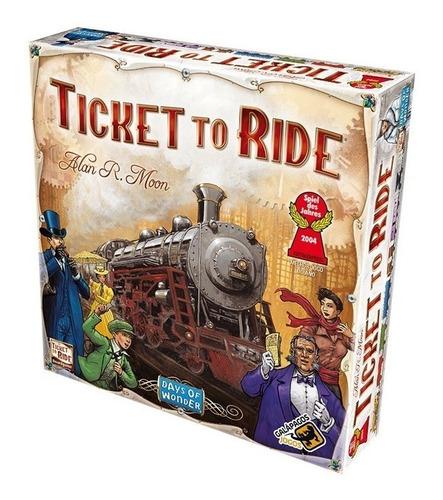 ticket to ride - jogo de tabuleiro - galápagos jogos (pt-br)
