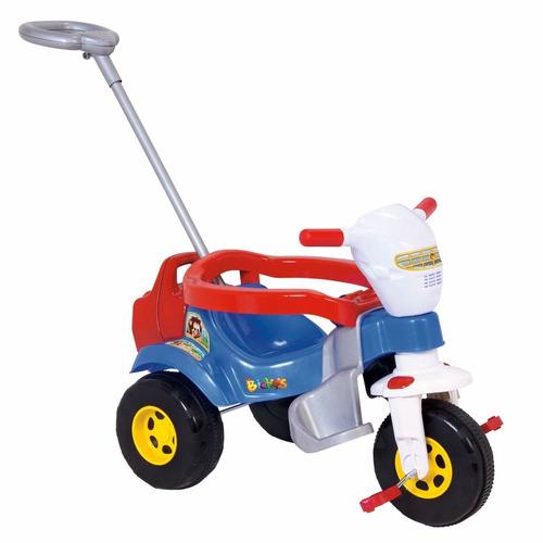 tico triciclo velotrol super bichos azul magic toys 3512