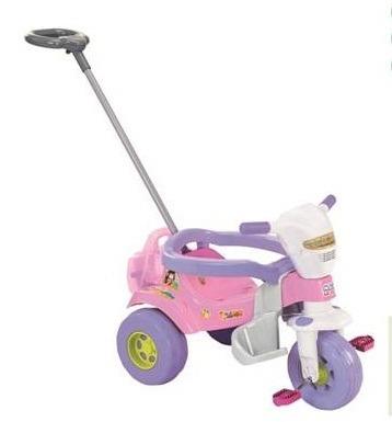 tico triciclo velotrol super bichos rosa magic toys