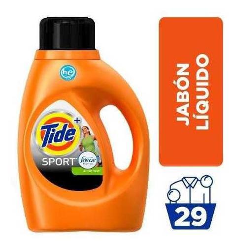 tide con febreze sport 29 lavadas