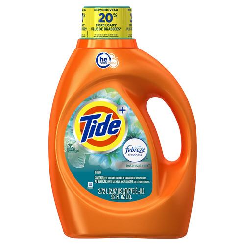 tide detergente aroma bootanical rain, 59 cargas, 2.72 l