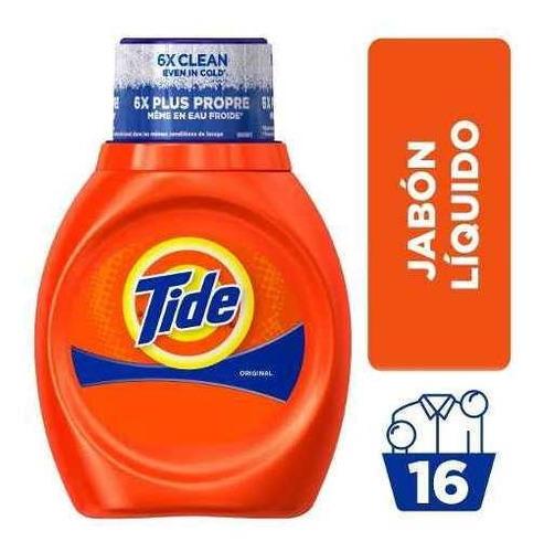 tide scent jabón líquido para ropa 25 oz, 16 cargas