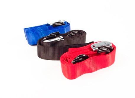 tie downs sujetadores para moto 1.5 pulgadas. color rojo