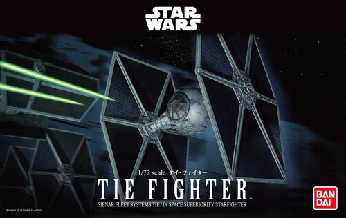 tie fighter (modelo armable) - bandai