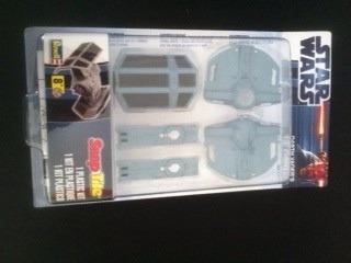 tie fighter star wars kit 1/72 novo lacrado