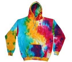 tie - tinte jersey sudaderas surtido de color , tamaños s -