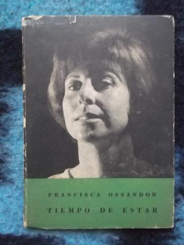 tiempo de estar francisca ossandón 1963