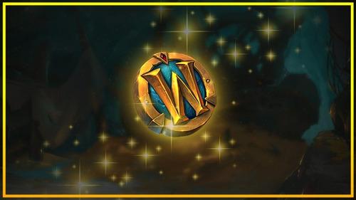 tiempo de juego 30 días world of warcraft, ficha wow, token
