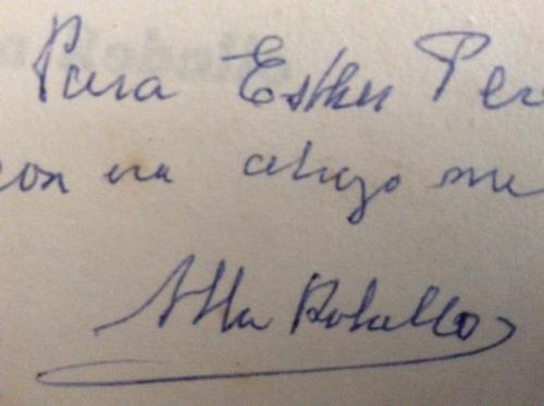 tiempo de lobos  alba roballo - con firma autógrafa - poesía