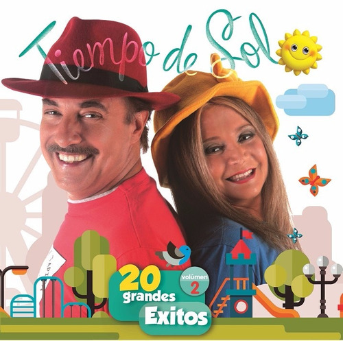 tiempo de sol - 20 grandes éxitos vol. 2 - cd