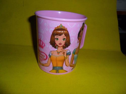 tiempo princesa daysal  vaso vasito taza princesas