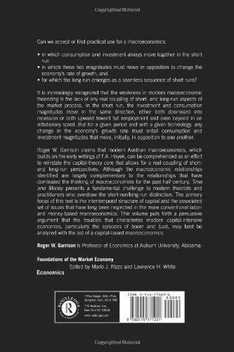 tiempo y dinero: la macroeconomía de la estructura del