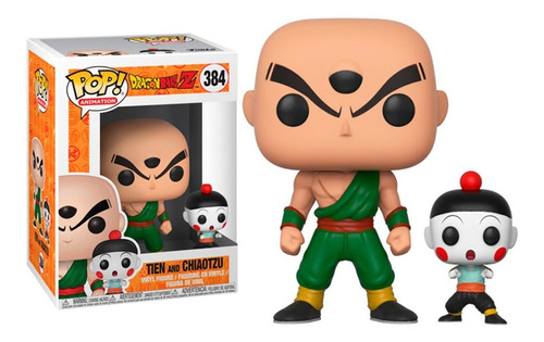 tien and chiaotzu - funko pop original