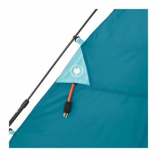 tienda acampar campvalley con 6 pzs de complemento + regalo