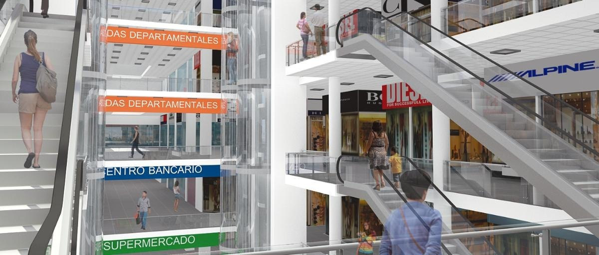 tienda alquilo galeria centro comercial mall gamarra plaza