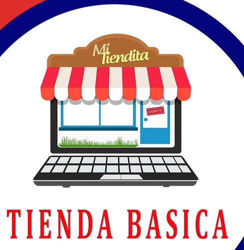 tienda básica online solo sube tus productos, autoadministra