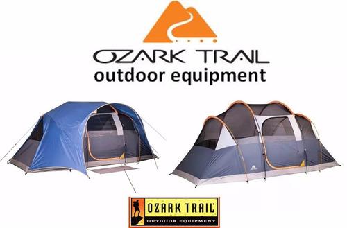 tienda casa de campaña 8 personas ozark trail valladolid