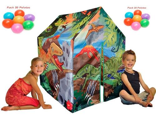 tienda de camping para niños y niñas de dinosaurio