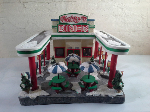 tienda de porcelana betty's diner hermosa clave (j2)