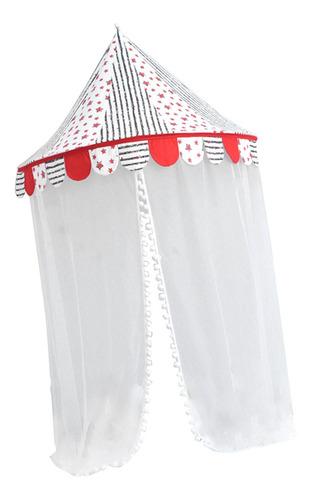 tienda de princesa de interior colgante con red de mosquito