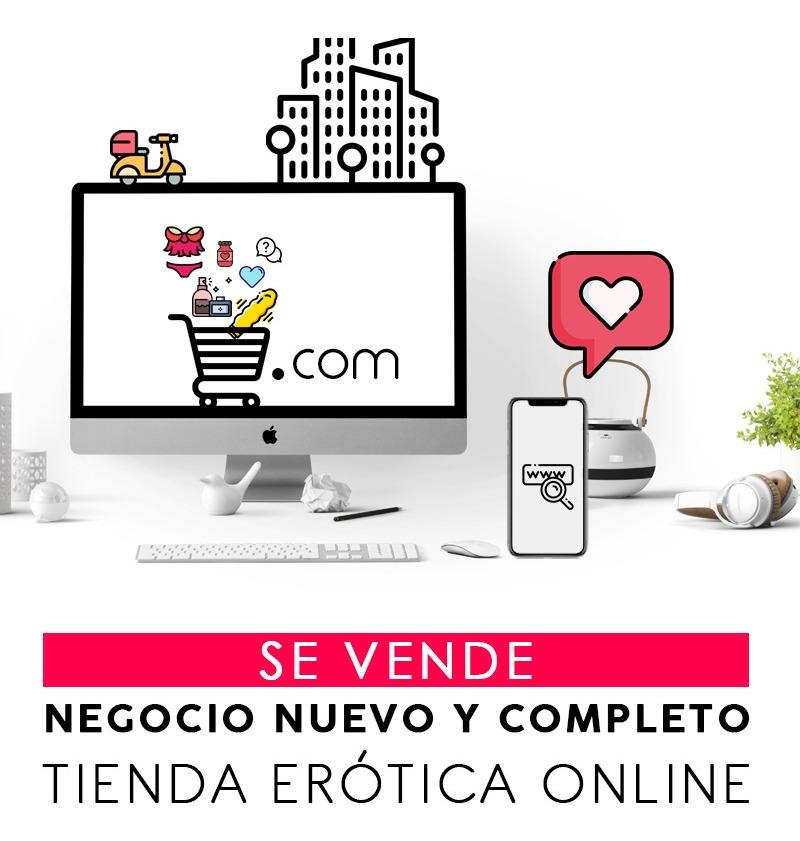 tienda erótica online - negocio completo