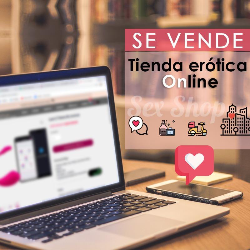 tienda erótica online - negocio completo - fácil operación
