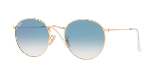 tienda oficial - anteojos de sol ray ban round metal 3447