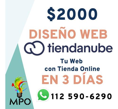 tienda online - web con tienda nube ~ logo / redes sociales