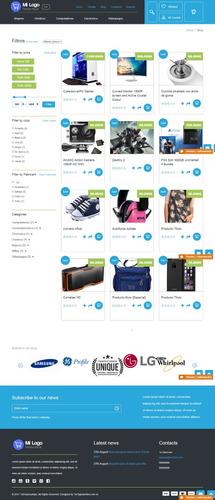 tienda virtual + carrito de compras - paypal - transferencia
