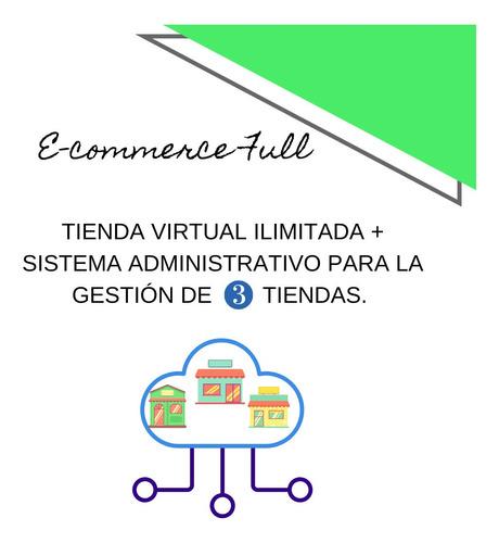 tienda virtual o tienda on line