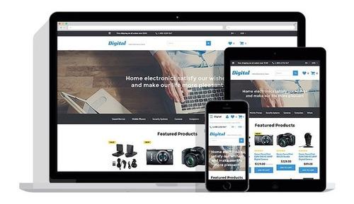 tienda/diseño web autoadministrable