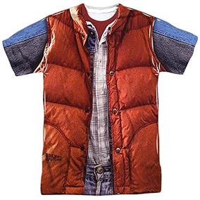 Al regreso De Tiendas Camiseta Chaleco La Futuro Mcfly IWEDHY29