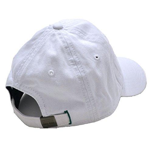 Tiendastommy Hilfiger Gorro De Béisbol Bordado (blanco To ... a21f1b63699