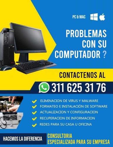tienes problemas con tu computador?