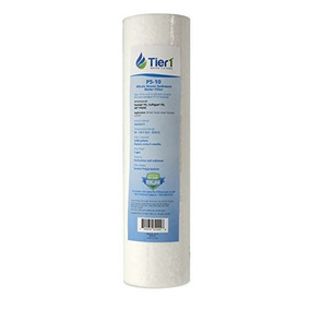 """12 FILTERS HYDRO CURE DELUXE 1 MICRON 10/""""x2.5/"""" SEDIMENT FILTER"""