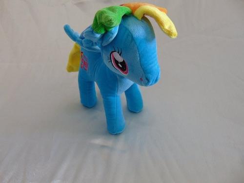 tierno peluche my little pony 35cm en micrifibra y plumon