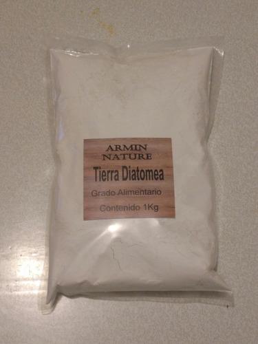 tierra de diatomeas 1 kg grado alimenticio