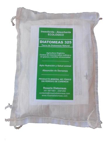 tierra de diatomeas 100%. insecticida ecológico x 2 kg